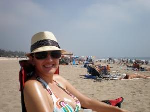 Kristen heart beach